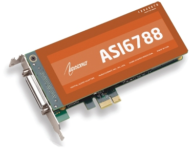 AudioScience ASI6788 PCIe 声卡