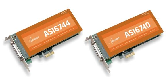 AudioScience ASI6740/ASI6744 PCIe 声卡