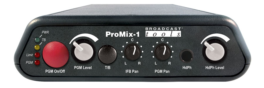 Broadcast Tools ProMix-1 模拟音频混音器