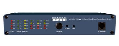 Broadcast Tools WVRC-4 Plus 网络和语音遥控器