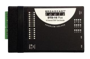 Broadcast Tools DTD-16 Plus 16通道DTMF音频解码器